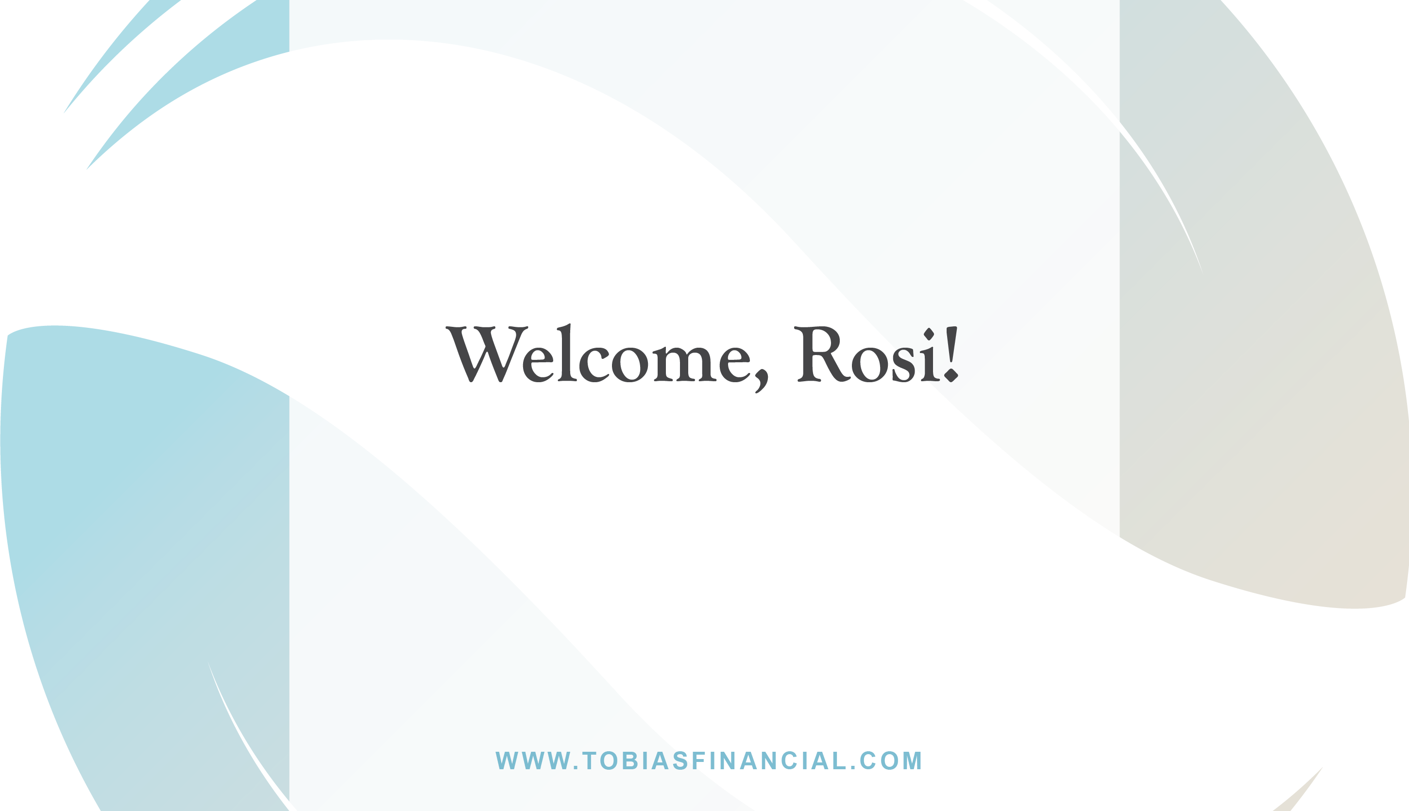 Welcome, Rosi!