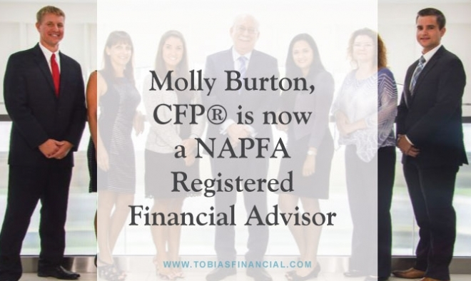 Molly Burton, CFP® is now a NAPFA Registered Financial Advisor