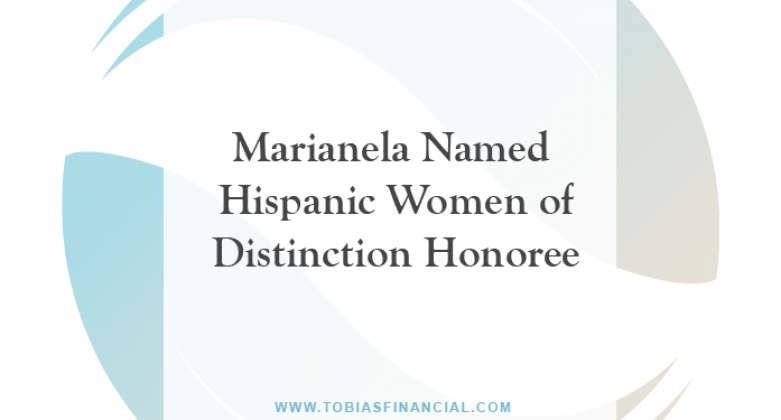 Marianela Named Hispanic Women of Distinction Honoree