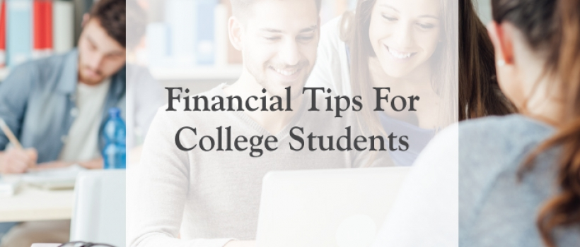 Financial Tips for College Students